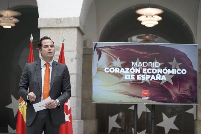 Ignacio Aguado, vicepresidente del Gobierno regional