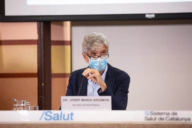 Archivo - El secretario de Salud Pública de la Generalitat, Josep Maria Argimón (Archivo)