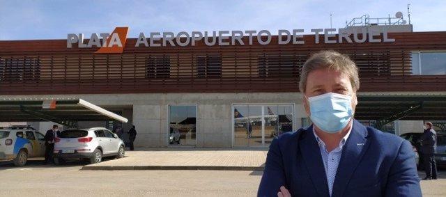 Sale a licitación la pavimentación de la fase IV de la campa de estacionamiento del Aeropuerto de Teruel.
