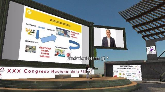 El consejero Carlos Fernández defiende en el Congreso Nacional de Estudiantes de Farmacia el modelo mediterráneo