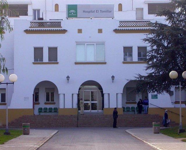 Archivo - Facada del Hospital El Tomillar