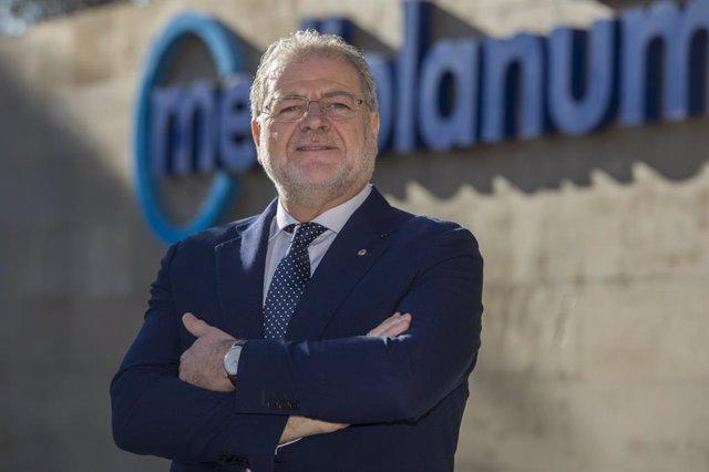 Archivo - Miguel Tamarit, responsable de Banco Mediolanum en Catalunya