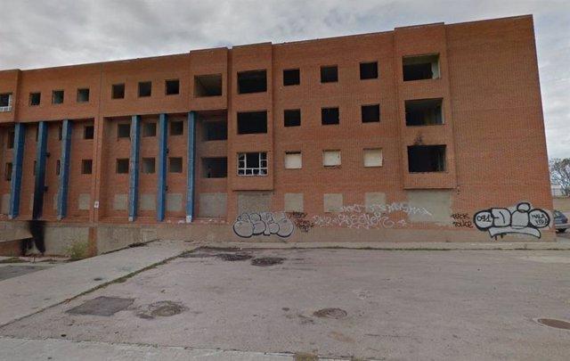 El Ayuntamiento de Cáceres busca financiación europea para el derribo del Bloque C de Aldea Moret