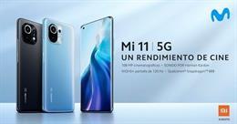 Movistar incorpora a su oferta de terminales 5G el modelo Xiaomi Mi 11
