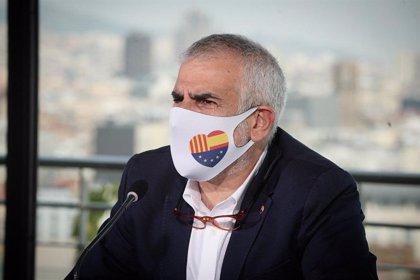 """Cs troba més preocupant que la CUP governi o presideixi el Parlament """"que Vox a l'oposició"""""""