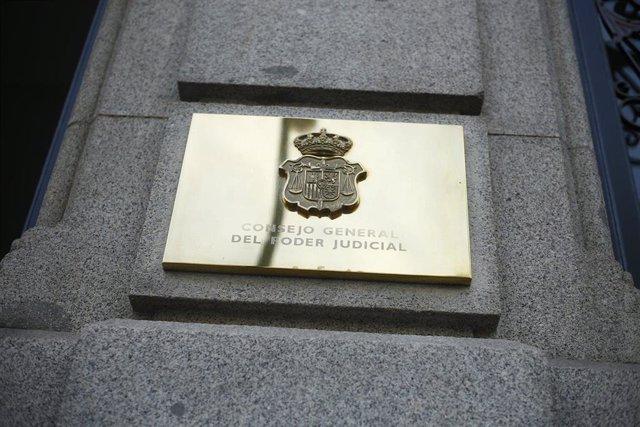 Archivo - Consejo General del Poder Judicial (CGPJ)