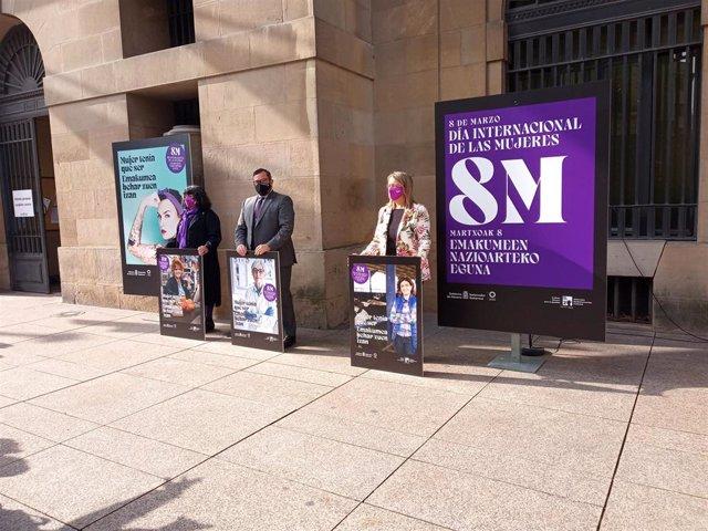 Presentación de la campaña del 8M.