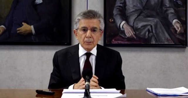 El president i conseller delegat d'Ercros, Antonio Zabalza