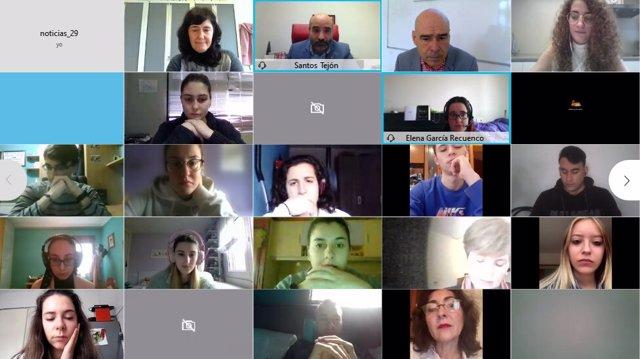 Acto telemático de bienvenida al programa de la Agencia de Activación Juvenil de Gijón