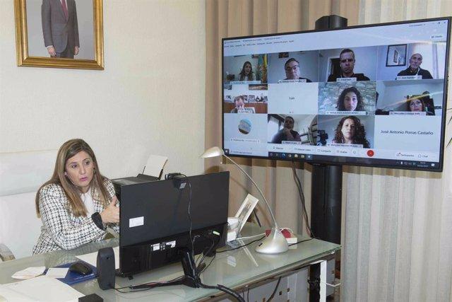 Irene García reunida con directores de los Hoteles de Tugasa