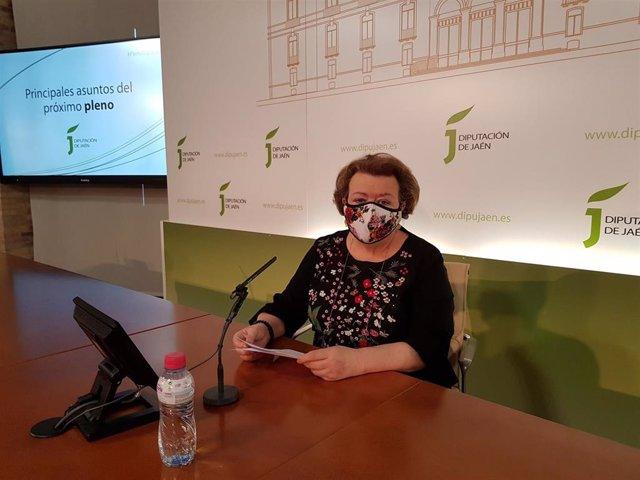 La icepresidenta segunda de la Diputación de Jaén, Pilar Parra.