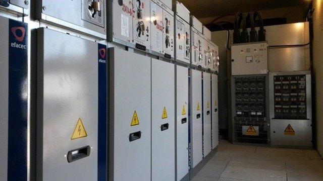 Centro de transformación eléctrica.
