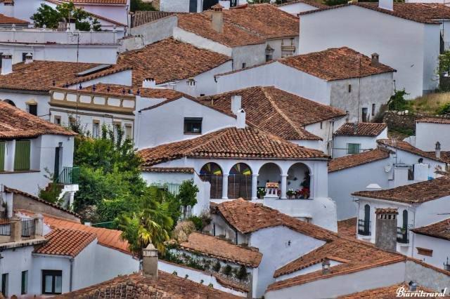 Casco urbano de Fuenteheridos (Huelva).