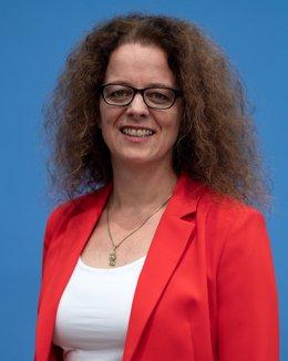 Archivo - Isabel Schnabel, ejecutiva del BCE