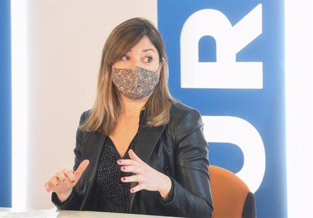 Carolina Blasco, portavoz del Grupo Municipal del PP de Burgos.