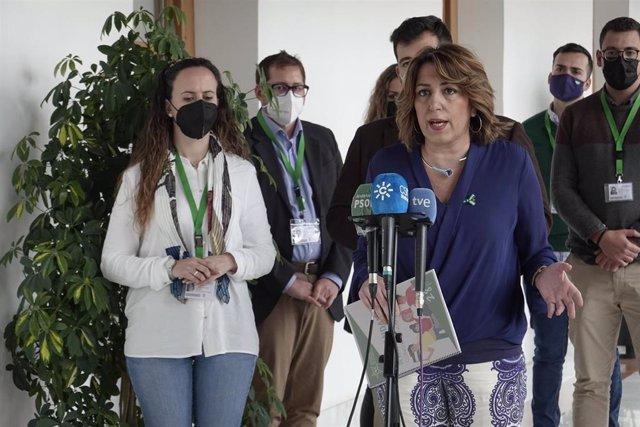 Susana Díaz, este viernes
