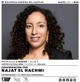 Cartel presentación 'El lunes nos querrán', de Nataj El Hachmi