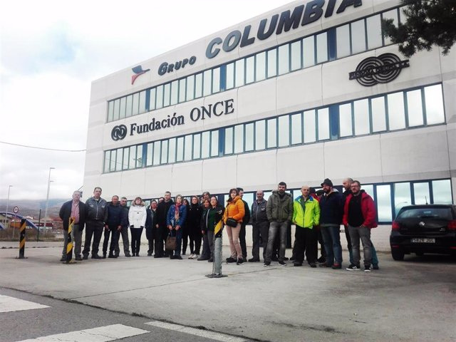 Archivo - Trabajadores Columbia. Archivo
