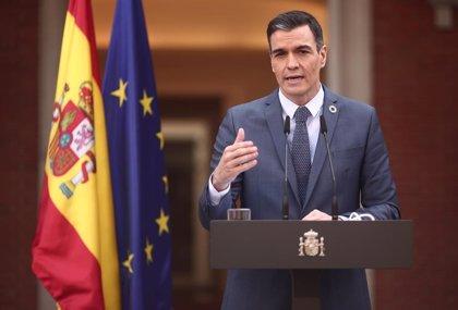 """Cvirus.- Sánchez respalda cartilla europea de vacunación para """"recuperar el turismo sin aumentar riesgo sanitario"""""""