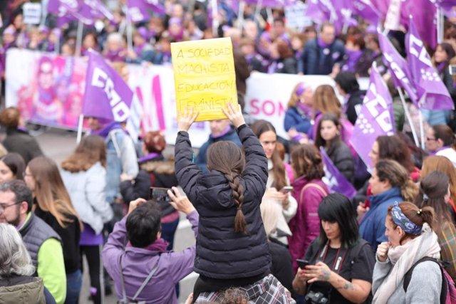 Manifestación del 8M en Madrid. Archivo