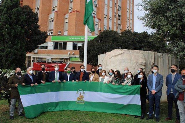 Acto del PSOE de Málaga por el 28F