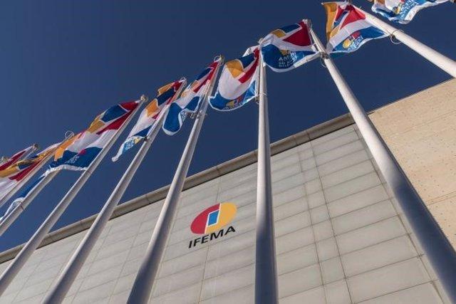 Archivo - Imagen de recurso de la fachada de Ifema.
