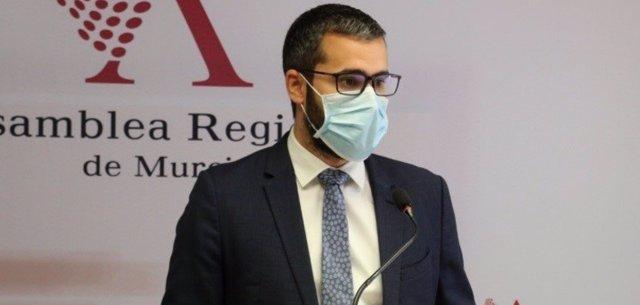 El vicesecretario general y portavoz del PSRM-PSOE, Francisco Lucas