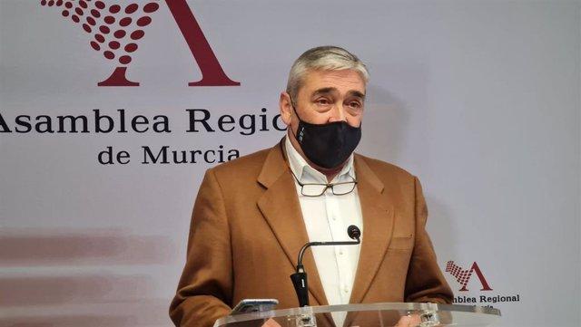 El diputado liberal, Francisco Álvarez