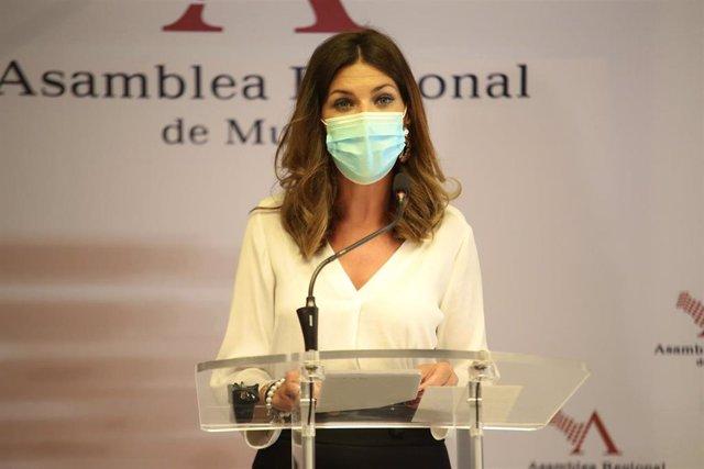 La viceportavoz del GPP, Mari Carmen Ruiz Jódar