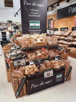 Panadería en Carrefour.