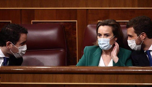 """El PP insiste en que Prada y Rosell no pueden estar en el CGPJ y pide a Sánchez arreglar antes """"sus líos"""" con Iglesias"""