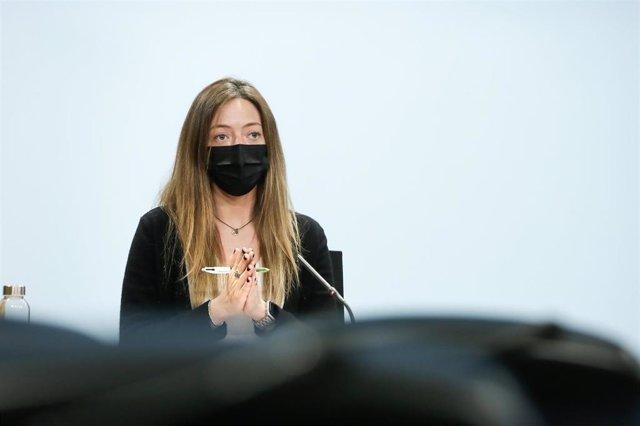 La secretaria de Estado de Salud de Andorra, Helena Mas.