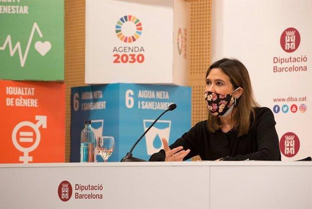 La vicepresidenta cuarta de Políticas de Participación, Agenda 2030 y ODS, Núria Parlon