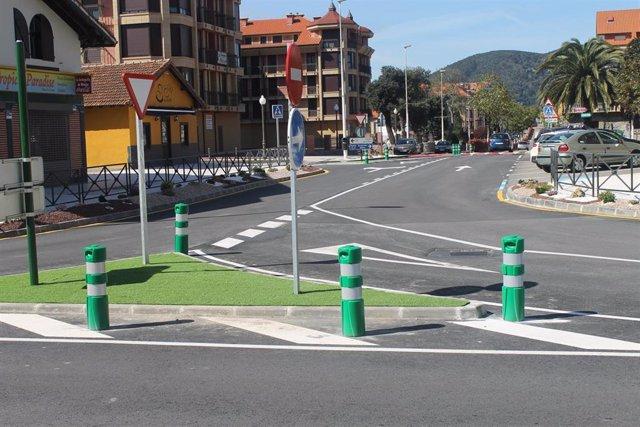 Archivo - Avenida Santander en Noja