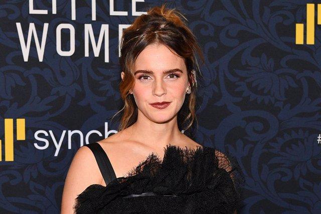 Archivo - Emma Watson en la premiere en New York de Mujercitas