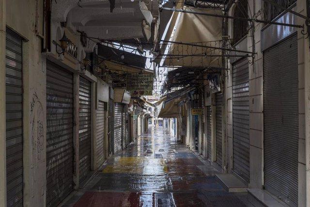 Atenas, la capital de Grecia, durante la pandemia de COVID-19.
