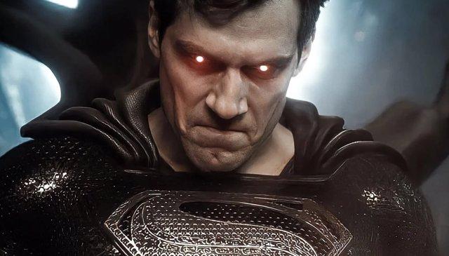 Superman en Liga de la Justicia de Zack Snyder