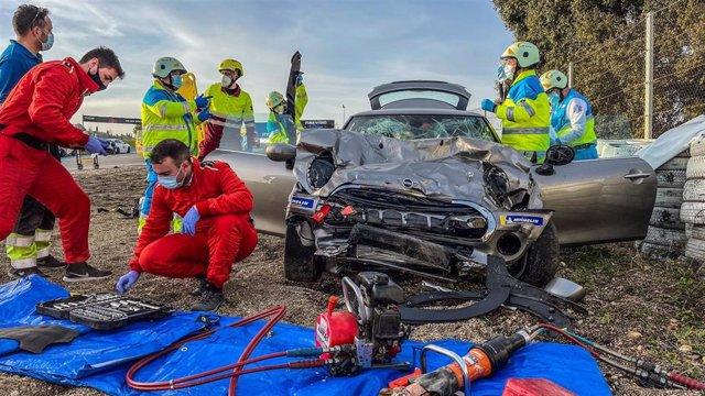 Fallece un joven de 18 años en un accidente en el Ciruito del Jarama