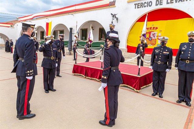Celebración del aniversario de la creación del cuerpo de Infantería de Marina