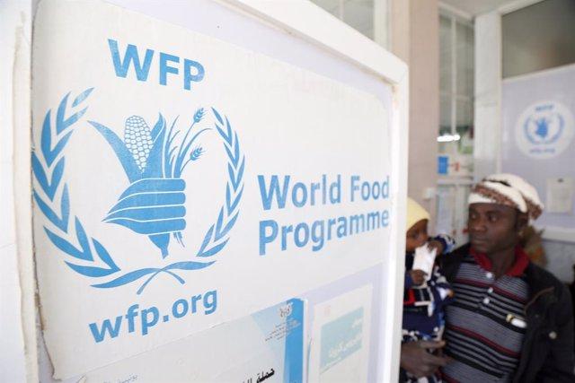 Oficina del Programa Mundial de Alimentos (PMA) en Saná, capital de Yemen