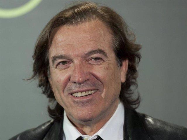 Archivo - Pepe Navarro attends 'Lorenzo, Guerrero' premiere at Cine Proyecciones on February 25, 2016 in Madrid, Spain.