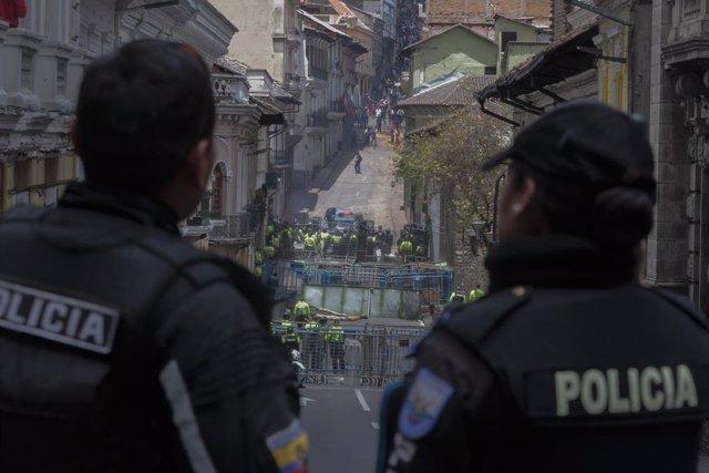 Policia de Ecuador
