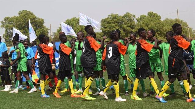 Fútbol femenino en Sudán del Sur