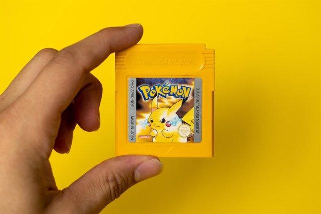 Pokémon Amarillo, para GameBoy.