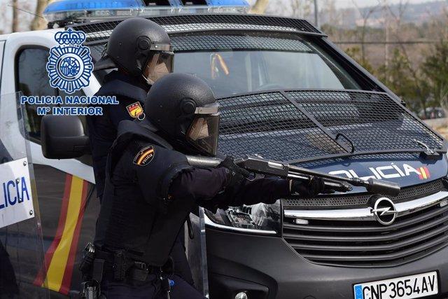 La Policía Nacional Ha Impartido Un Nuevo Curso Formativo Para Agentes De La Unidad De Prevención Y Reacción