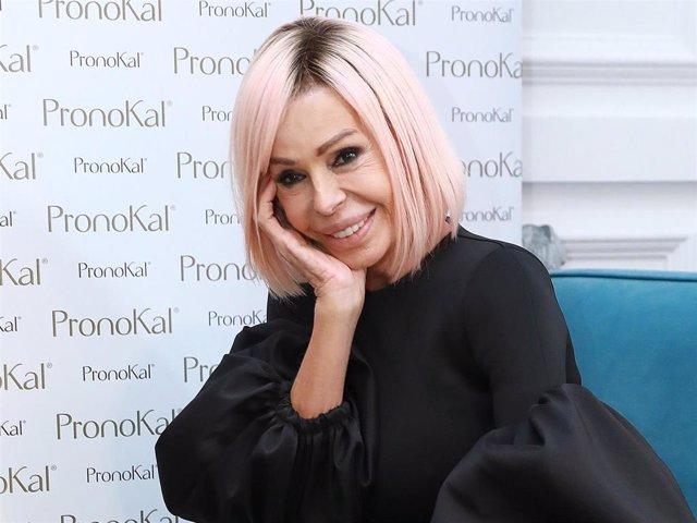 Archivo - Bibiana Fernández, imagen de Pronokal, que parece haberle funcionado de maravilla
