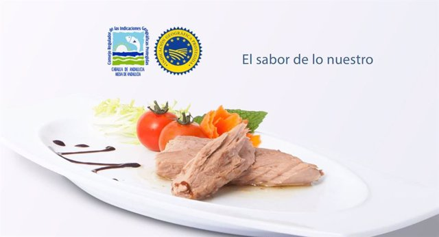 Plato elaborado con productos IGP de Caballa de Andalucía y Melva de Andalucía