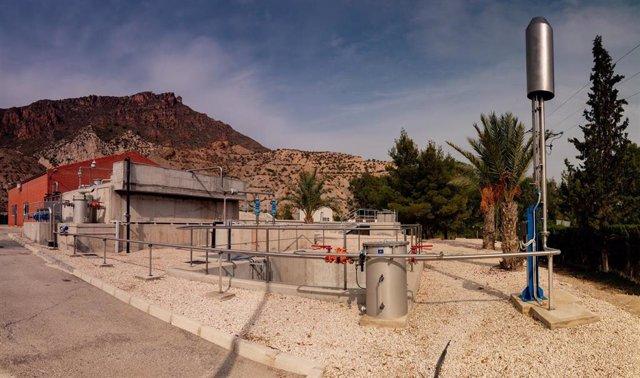 Imagen de la Estación Depuradora de Aguas Residuales de Blanca
