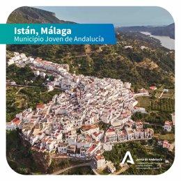 La localidad de Istán (Málaga), declarada Municipio Joven.