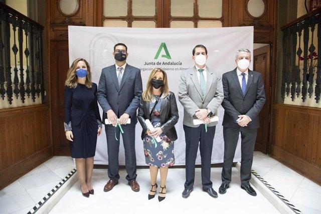 Los distritos sanitarios de Almería agradecen el reconocimiento de Gobierno Andaluz